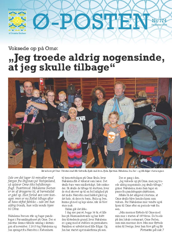 8e2a01d6 Ø-posten - Sammenslutningen af Danske Småøer
